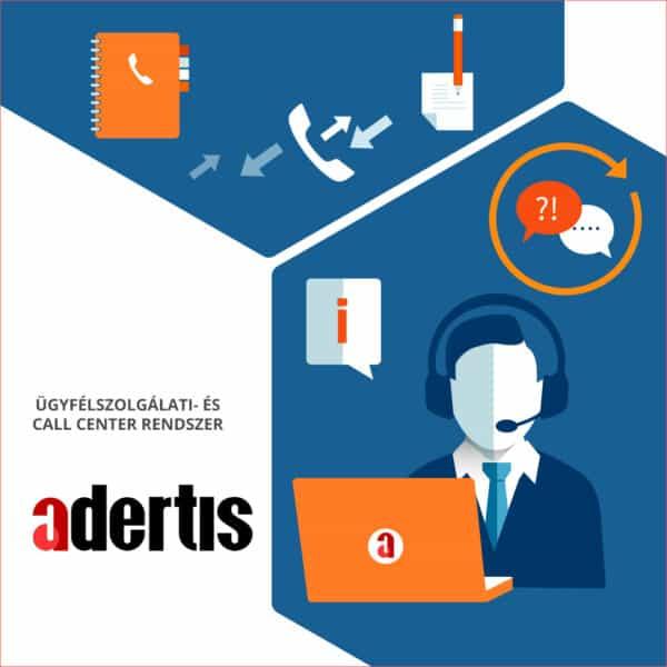 Adertis – Ügyfélszolgálati és Call Center rendszerek